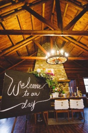 Rutgers Log Cabin Wedding | Ruffled
