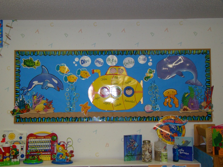 Dive into mrs hayes 39 class bulletin board from 2009 for Idea door primary 2015