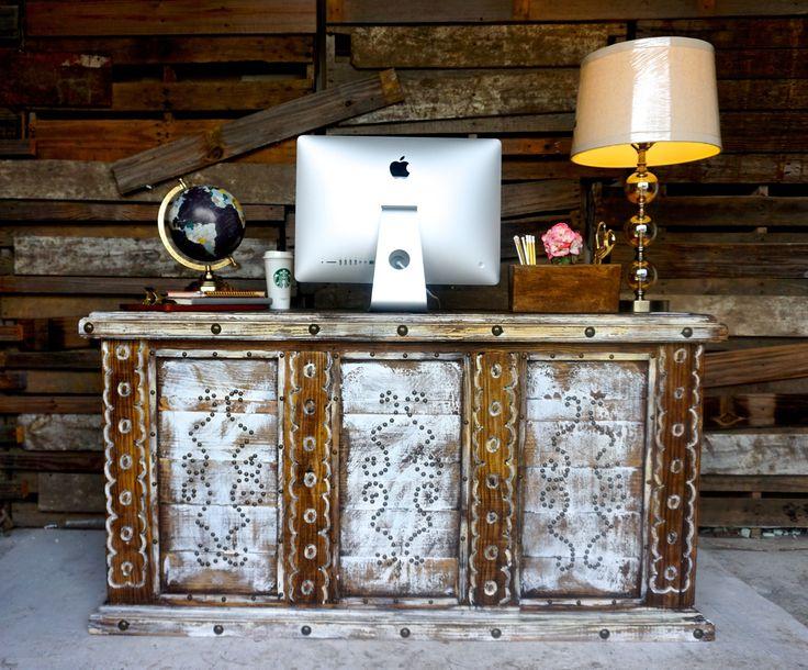 Cheyenne Desk   Sofiau0027s Rustic Furniture #rustic #hacienda #cheyenne #desk # Sofias