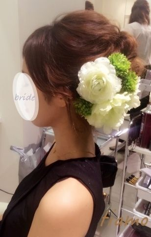 ドレスから和装へチェンジ!ルーズな4スタイル♡リハ篇 |大人可愛いブライダルヘアメイク『tiamo』の結婚カタログ