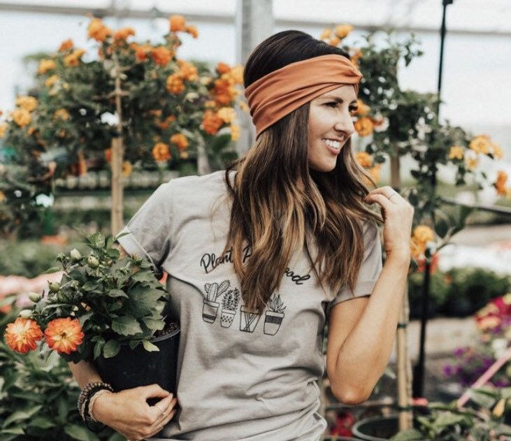 Women's Wide Head Wrap, Rust Orange Turban, Topaz, Twist Turban Headband, Headband, Hair Acce...