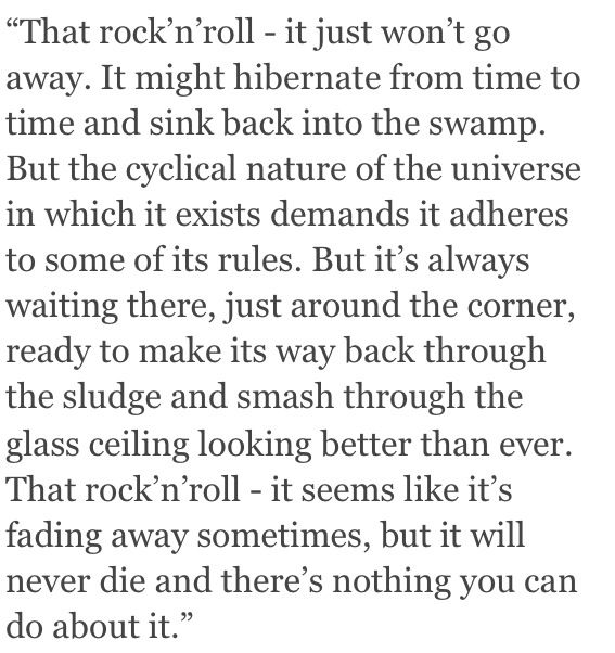 alex turner on BRITs 2014 this is the music that's worth living for.... Best acceptance speech ever.
