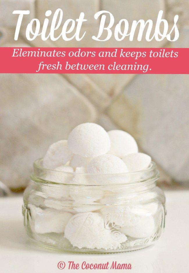 Bomby czyszczące toaletę z sody oczyszczonej, olejku eterycznego, kwasku cytrynowego, octu i wody utlenionej