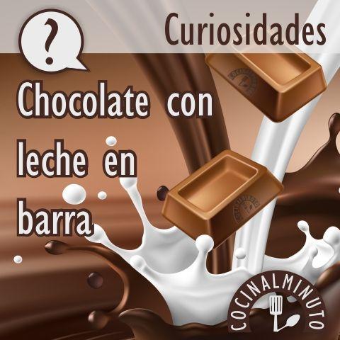 el chocolate con leche es el tipo de chocolate más popular y más consumido hoy en día ...