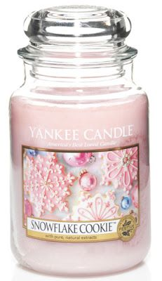 Now with the winter coming along a candle is a perfect thing to do when you just want to relax and unwind! I particularly love this scent it's the new Christmas 2013 snowflake cookie smell, oh my gosh it's to die for, beautiful!