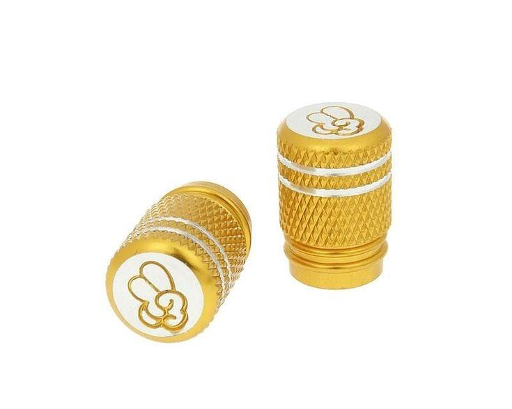 Scooterkay Angebote Ventilkappen Set Peace gold - universal: Category: Räder & Reifen > Schläuche, Ventile & Zubehör Item…%#Scooter%