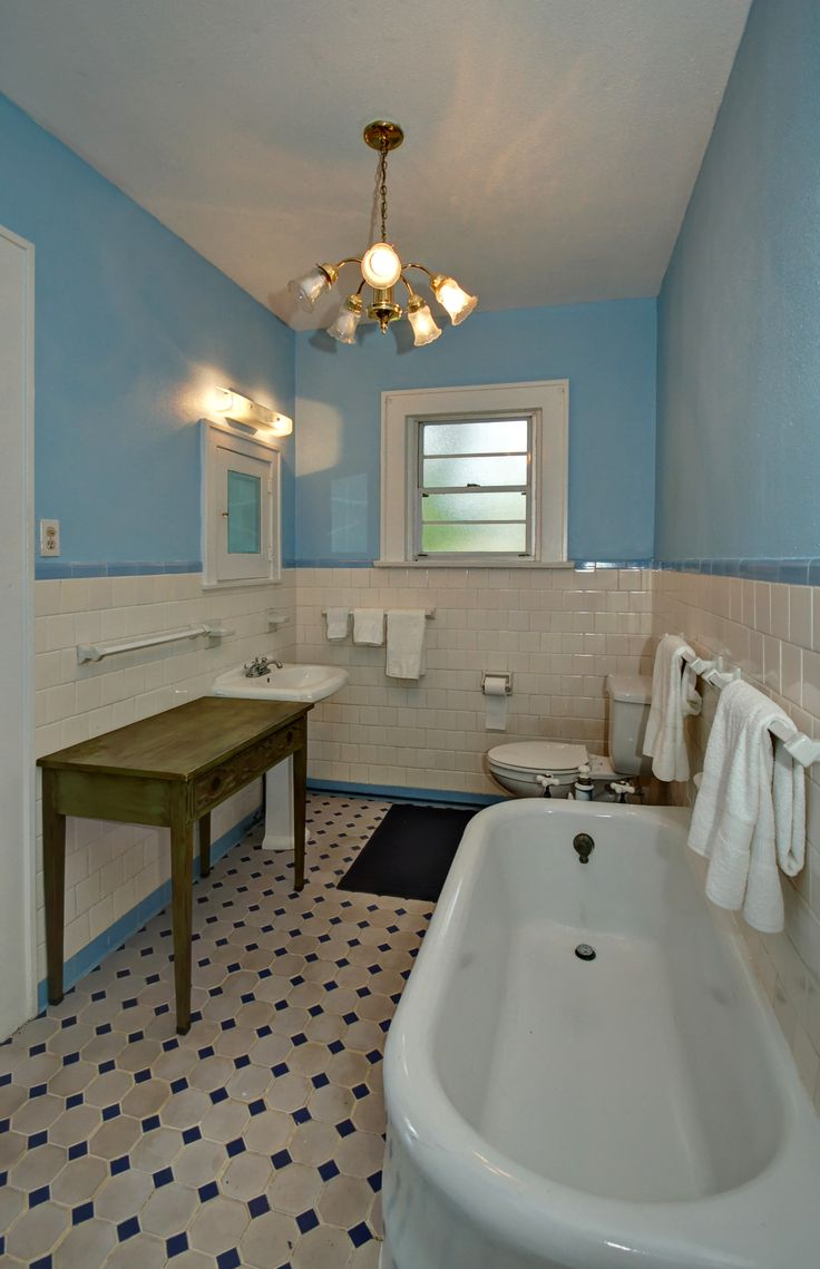 Early 1900 S Bathroom Edward Lundberg Built House