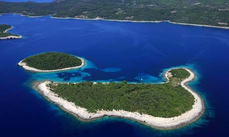Unspoilt nature ... Mljet island National Park in South Dalmatia. Photograph: Hemis/Corbis