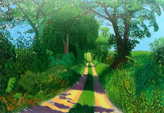 David Hockney, Landscape Tunnel