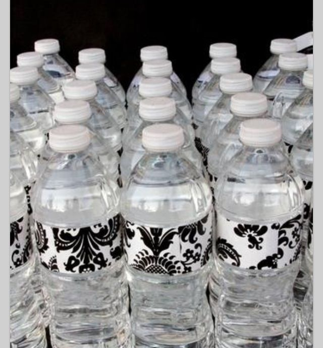 25 best ideas about decorated water bottles on pinterest for Baby bottles decoration