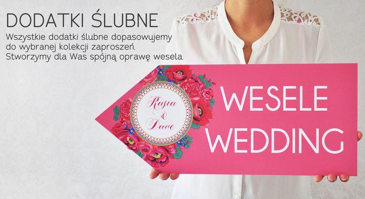 Zobacz naszą ofertę dodatków weselnych. Papeteria marki Projekt Ślub to gwarancja wyjątkowej, idealnie dopracowanej oprawy wesela.
