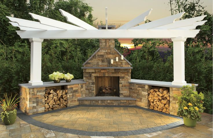 25 best ideas about outdoor fireplace kits on pinterest