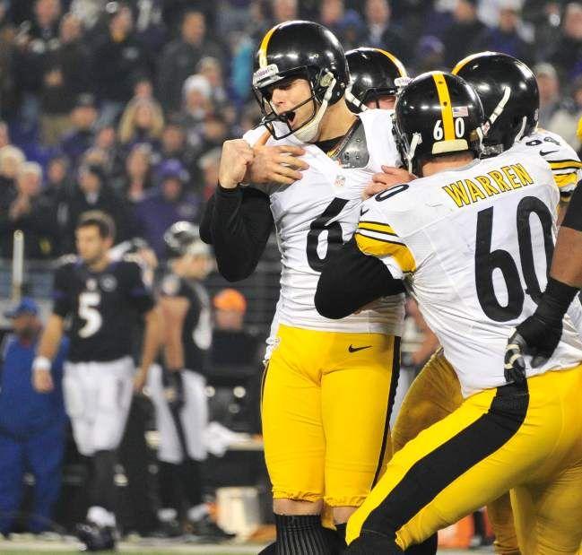 Suisham's last-second field goal lifts Steelers past Ravens