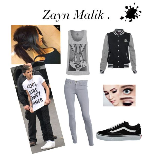 Zayn Malil. by abbi-rocio on Polyvore