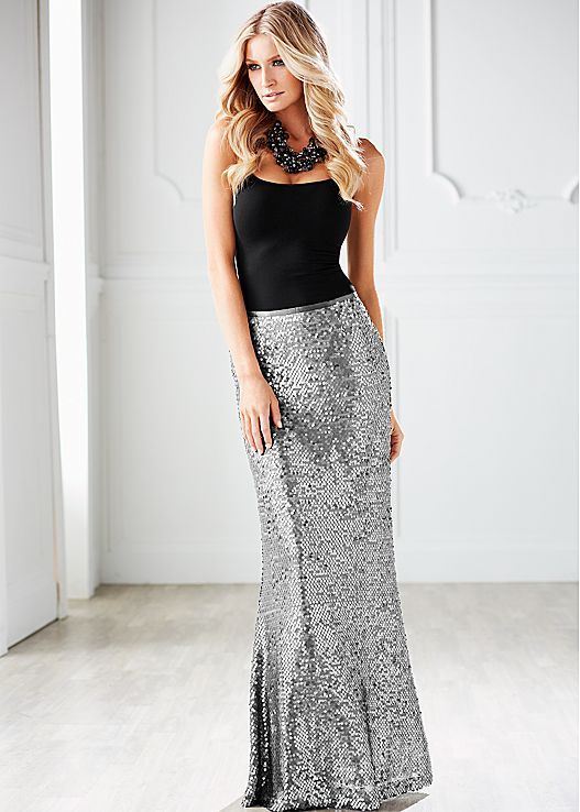 Best 20  Sequin maxi skirts ideas on Pinterest | Sequin maxi ...