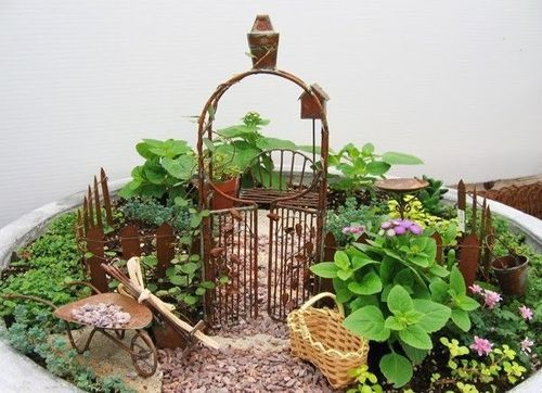 21 Best Images About Fairy Gardens On Pinterest Gardens Trees And Raised Beds