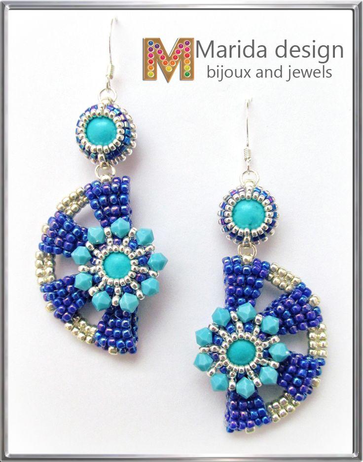 """Shangri-La"" earrings"