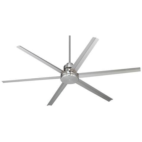 """72"""" Mondo Brushed Nickel Ceiling Fan"""