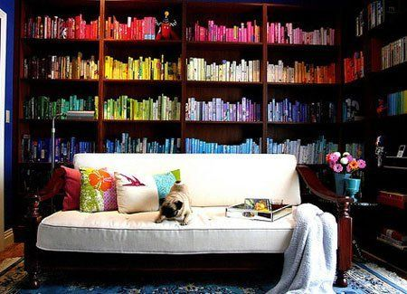9 Ways to Organize Books: Which Is Your Style? | Apartment Therapy