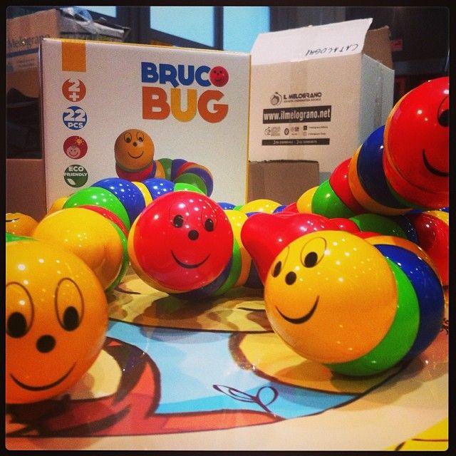 Bruchi in fiera! http://www.ilmelograno.net/it/ludus-giochi/298-bruco-bug-8009971286330.html