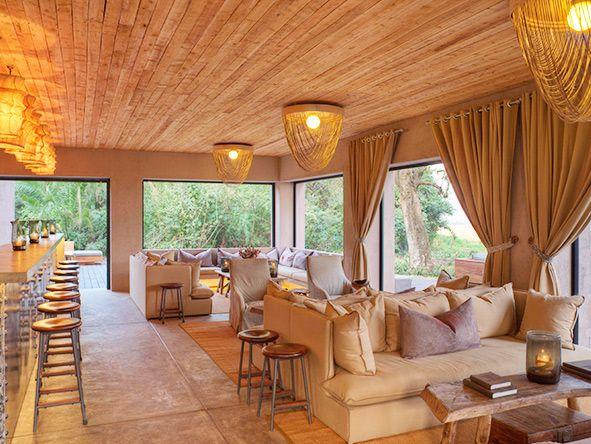Main lounge at Kichwa Tembo Tented Camp