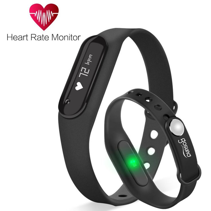 Fitness Tracker, Gosund C6 Heart Rate Monitoring Smart Bracelet Fitness Band with Pedometer, Call, SMS Reminder, IP65 Waterproof(Black-1). Pedometer: Tracks steps, distance and calories burned. Sleep Monitoring: Monitors how long and well you sleep. Smart Alarm: Wakes you (and not your partner) with a silent wake alarm. Online Upgrade, Heart Rate Monitoring, Anti-lost, Call and text alerts, Shake to take photos, etc. Professional Customer Service of 1 Yr Warranty & 30-Day Money Back…