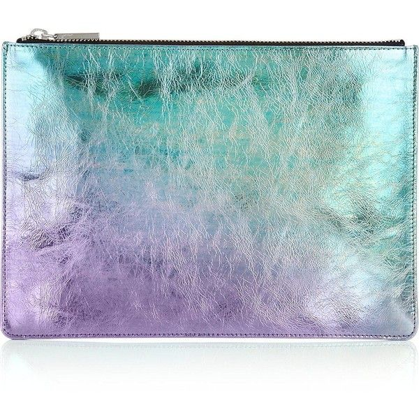 Whistles Mermaid Medium Iridescent Clutch Bag ($95) ❤ liked on Polyvore featuring bags, handbags, clutches, multi, multi colored handbags, iridescent purse, colorful handbags, whistles purse and multi colored purses