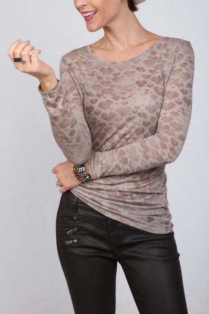 Raffaello Rossi Pants - Brandy   Laeticia Moreno