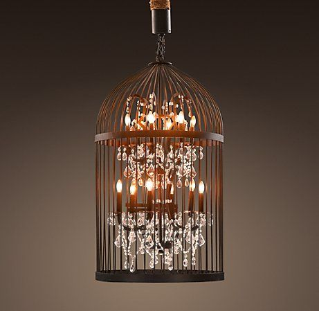 Birdcage #chandelier