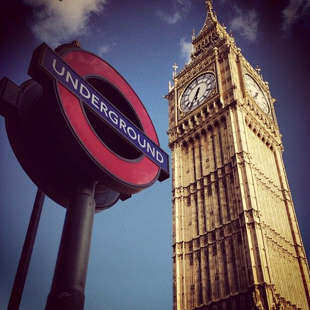 Elizabeth Tower (Big Ben) in City of Westminster, Greater London