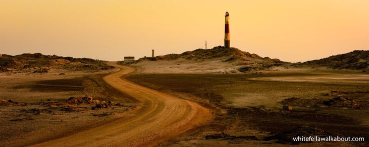 The lighthouse at Diaz Point south of Luderitz in Namibia.