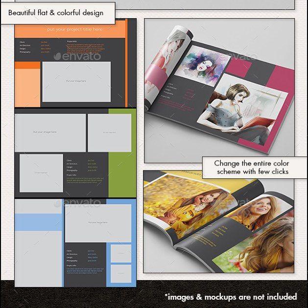 Portfolio Photobook Artbook Design Photography Creative