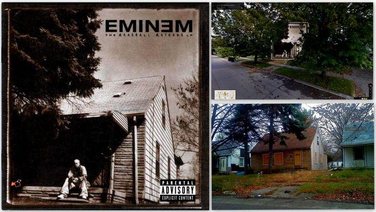 """Eminem – """"The Marshall Mathers LP"""" Albümü / KLASİKLEŞMİŞ 12 ALBÜM KAPAĞI NEREDE ÇEKİLDİ?"""
