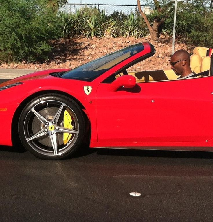 Kobe Bryant  Kobe the  American professional basketball player for the Los Angeles Lakers owns a Ferrari 458 Italia