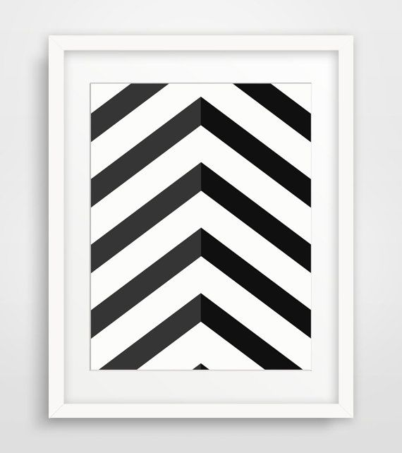 Chevron Aztec lines that really stand out with a powerful simplicity. Just click the link to download and print for your very own modern home or office http://etsy.me/29obBoq :) - Melinda Wood Designs
