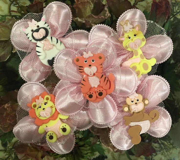 Jungle Safari Confetti Flower Favors, Baby Shower, Almond Favors, Bomboniere, Italian favors, Jordan almonds flowers, Koufeta, Favours, by ConfettiFlowerFavors on Etsy