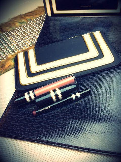 JUSTiBeauty Blog: MAC: Neuer Online Shop Schweiz & Stroke of Midnight Lip Bag