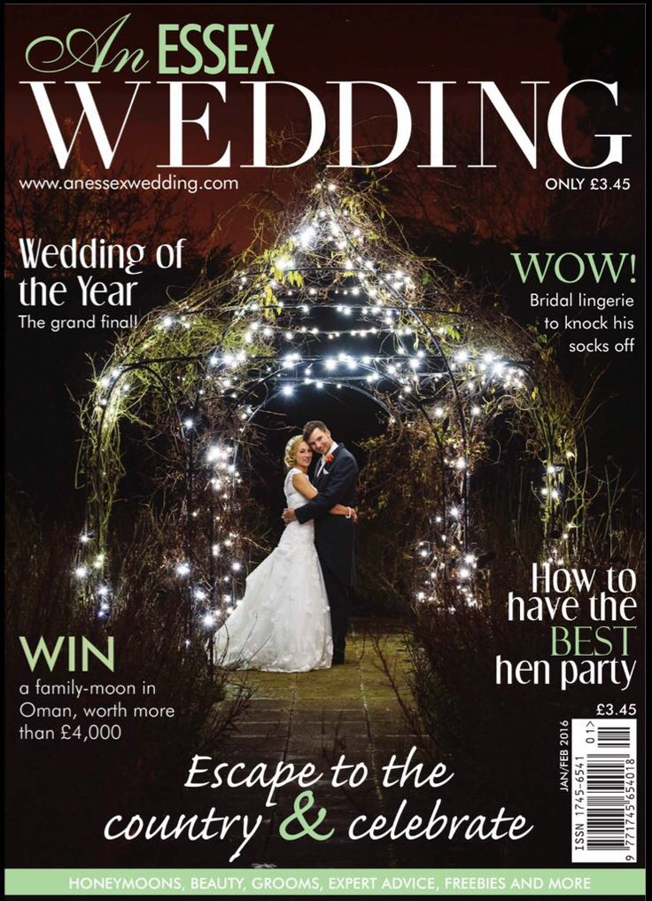 Gaynes Park is on the front cover of An Essex Wedding magazine Edition for this month of January 2016. Image by Justin Bailey Photography  www.gaynespark.co.uk  #wedding #weddingvenue #essexbride #barnweddings #walledgardens #photography #weddjngphotography #weddingideas