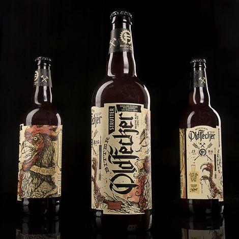 Bitter Old Fecker Beer Bottles