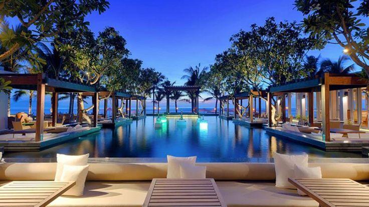 Thiết kế resort Naman Retreat Đà Nẵng như hài hòa với thiên nhiên, là khu nghỉ dưỡng cao cấp nằm giữa …