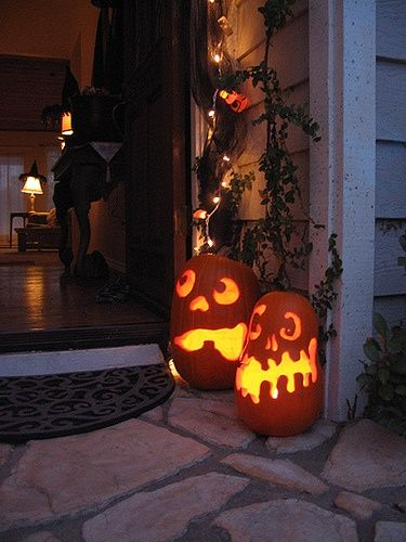 the practice of decorating jack o lanternsthe name comes halloween - The Tradition Of Halloween