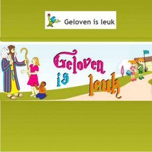 Geloven is leuk, website met veel Bijbelmateriaal voor kinderen
