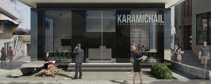 Real Estate Office / Kallithea, Greece