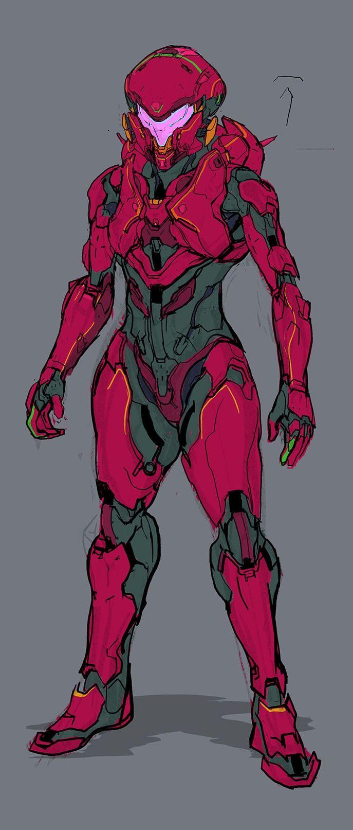 Halo 5: Guardians Concept Art   Spartan Vale