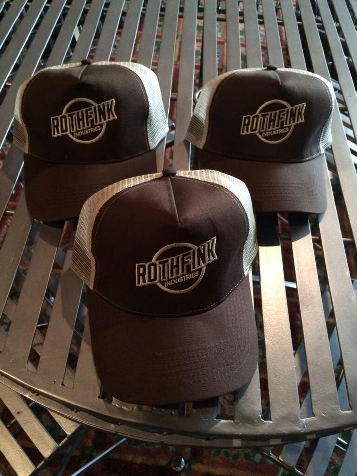 Rothfink trucker caps available at Roofrack Ragamuffins, Langtons Antique & Collectors Centre, Newport, South Wales.