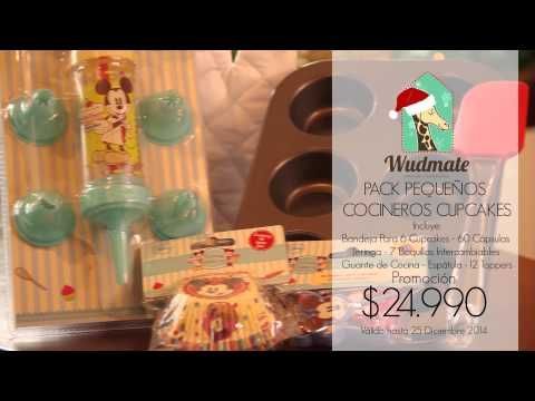 Wudmate: Pack Pequeños Cocineros Cupcakes Encuentra tus regalos en www.wudmate.com Despachos a todo Chile. Regala Emociones, Regala Amor, Regala Wudmate.  #Regalos #Providencia #Santiago #Chile #Giftstore #Navidad #Christmas #Gift