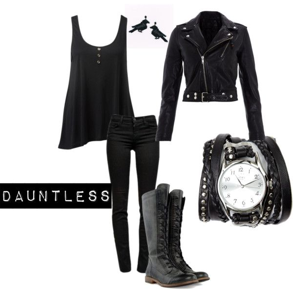 """Dauntless"" by divvyntage on Polyvore"