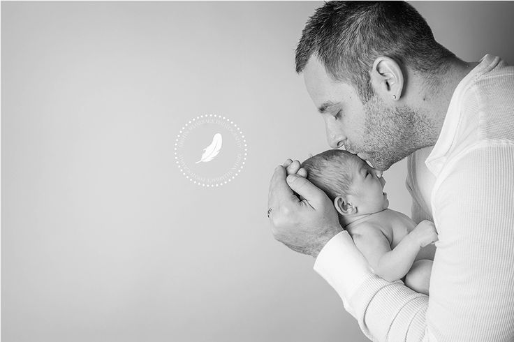 Love how sweet this is.  I also love the soft black & white.