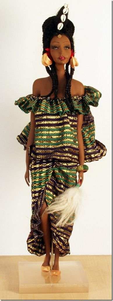 Fullani Doll by Denita Nyree Piltzer