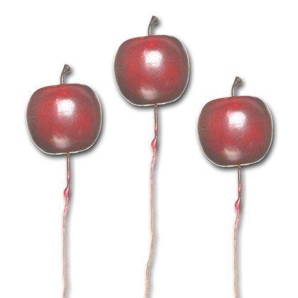 Äpple på stick i förpackning om 3 st.